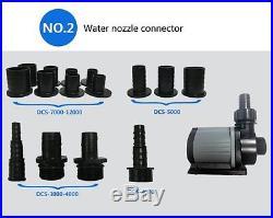 Jebao Aquarium Fish Tank Remote Adjustable Sump Return Pump DCS 2000-12000 L/H