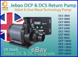 Jebao /Jecod DCP & DCS Series (3000-20000) DC Silent / Sine Wave Return Pump