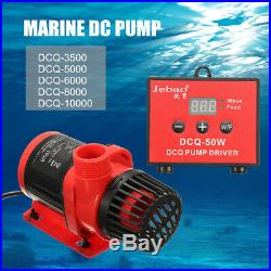 Jebao/Jecod DCQ DC Aquarium Tank Pump Water Submersible Fish Fountain Pond