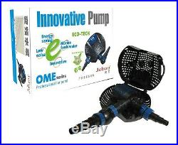 Jebao Twin Eco Energy Saving Submersible Dirty Water Filter Pond Pump 19000L/H