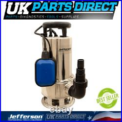 Jefferson 1100W 230V Submersible Water Pump for Pond / Pool / Flood