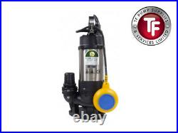 Js 400 Sv Auto 2 Submersible Sewage & Waste Water Pump With Float Switch 230v