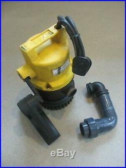 Jung Pumpen U6K E submersible waste / water pump