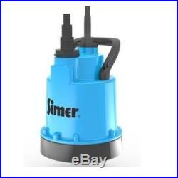 Jung Simer 5 Submersible Pump Flat Suction / Basement Water