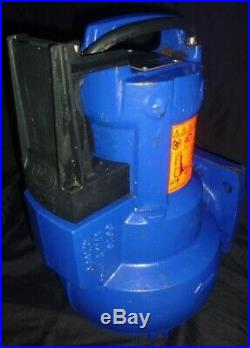 KSB AMA PORTER ICS 602 ID 2.5 Vertical Automatic Submersible Water Pump USED