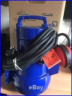 KSB AMA-Porter 502 SE Submersible Sewerage, Water Pump (with floatswitch) 240V