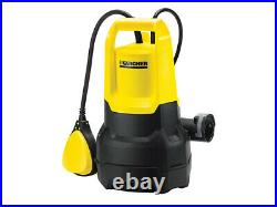 Karcher SP3 Submersible Dirty Water Pump 350W 240V 1.645-512.0