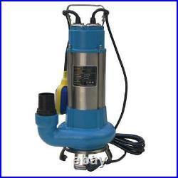 Katsu 151654 1100W Heavy Duty Pond Submersible Sewage Dirty Waste Water Pump