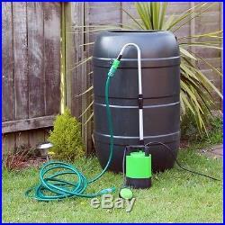 Kingfisher Submersible Water Butt Garden Pump 240v Mains Garden Watering
