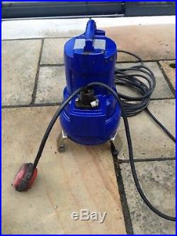 Ksb Ama-porter 503 Se Submersible Waste Water Pump With Floatswitch 240v