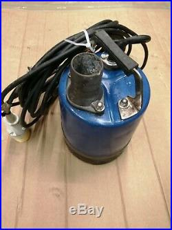 Kyoshin 2 / 50mm Submersible Water Flood Sump Pump 110v With 10 Metres of hose