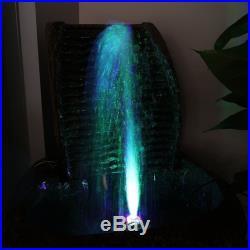 LED Light Submersible Water Pump Aquariums KOI Fish Pond Fountain Home Waterfall