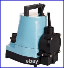 LITTLE GIANT 505350 Water Pump, Submersible With Piggyback Diaphragm Switch