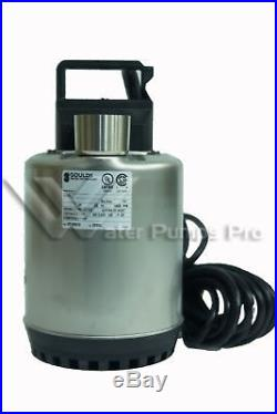 LSP0311 Goulds Submersible Water Well Sump Pump 1/3 HP 115 Volts No Float Switch