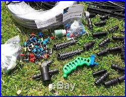 Large Quantity Of Garden Sprinkler System And Draper Submersible Water Pump