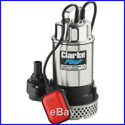 Latest CLARKE DWP100A 575W SUBMERSIBLE DIRTY WATER PUMP WITH FLOAT SWITCH 1