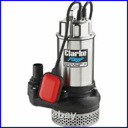Latest CLARKE DWP200A 2 SUBMERSIBLE DIRTY WATER PUMP WITH FLOAT SWITCH 230V