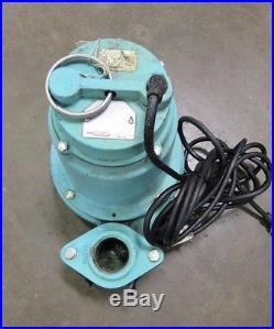 Little Giant 14eh-cim High Head Submersible Sump Waste Water Trash Pump 115v 1ph