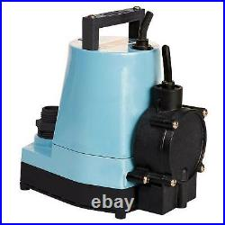 Little Giant Water Wizard 5 ASP LL Automatic or Manual Submersible Utility Pump