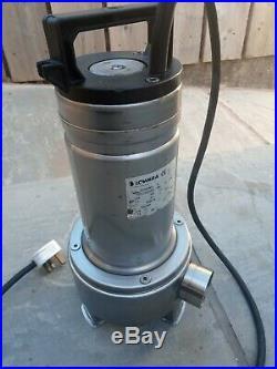Lowara DOMO S7 Stainless Submersible Dirty Water Pump