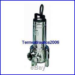 Lowara DOMO Submersible Pump Dirty Water DOMO15 SG 1,1kW 1x230V 50Hz