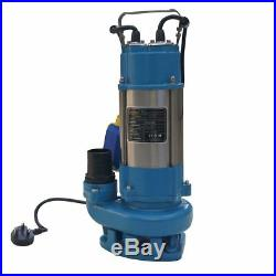 MERRY Heavy Duty 750W Submersible Sewage Dirty Waste Water Pump Floating Switch