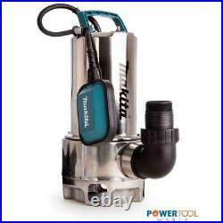 Makita PF1110 Electric Submersible Drainage Pump 1110W 250L 240v