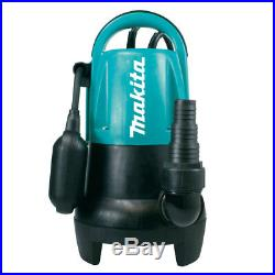 Makita PF4000 Electric Submersible Dirty Water Drainage Pump 160L