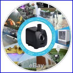 Maxesla Submersible Pump 120 GPH (550L/H) Fountain Water Pump For Pond/Aquari