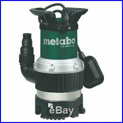 Metabo TPS16000SCOMBI Submersible Dirty Water Pump 240v