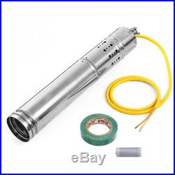 NEW 12V/18V DC 2m3/H Solar Powered Water Pump Submersible Bore Hole Deep Well