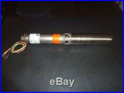 NEW 13CS15412CL Goulds 13 GPM 1.5HP 4 Submersible Water Well Pump & Motor 230V