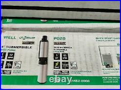 NIB Zoeller 1HP 230V Stainless Well Pump Potable Water 12GPM 1452-0006 MSRP $499