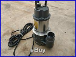 New 2 Submersible Water Pump Mustang MP4800 80GPM 2 Inch 110 power
