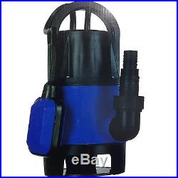 New 400w Universal Dirty Water Pump Submersible Automatic Electric Pond Pumps
