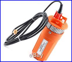 New Farm & Ranch Solar Powered Submersible DC Water Well Pump 24V 230FT+ Lift