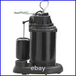 New Wayne Spf50 Submersible Thermoplastic USA 1/2 HP Water Sump Pump & Switch