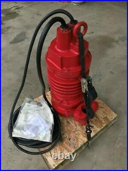 New Weil Submersible Waste Water Pump W-1601-16 Single Phase 1 HP