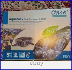 Oase Aquamax Eco Premium 10000 Koi Pond Water Pump never used