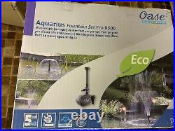 Oase Aquarius fountain set ECO 9500 water feature pump brand new unopened
