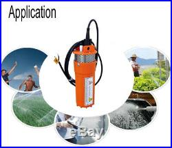 Off Grid Solar Panel 24V Solar Powered Submersible Water Deep Well Pump System
