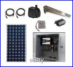 Pond Pump Kit Solar Powered Submersible Water Pump 380 GPH Solar Water Pump