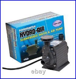 Pondmaster 02795 Hydro-Air 1200 gph Water Pump with Aerator-up to 1000 gal pond