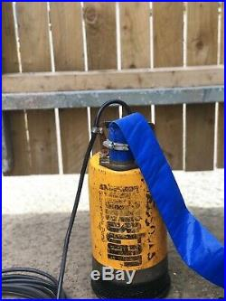 Ponstar Submersible Water Pump With Brand New Pump Out Hose