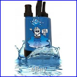 Puddle Buddy Residue Water low level submersible pump