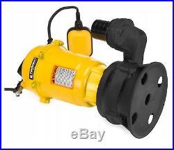 Pump Iron 3000W STRONG Dirty Water 25000L/h Sewage Submersible Garden Shredder