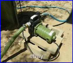 Pump Water 120 Volt Portable Utility 1525 GPH Output Water Draining Pool