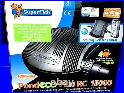 Remote Controlled Superfish Pond Pump Eco Plus E Water Pump 15.000RC