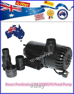 Resun Pondmate 28000LPH Submersible Water Feature Pond Water Pump