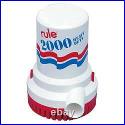 Rule 2000 Gph Non Automatic Bilge Pump 32v